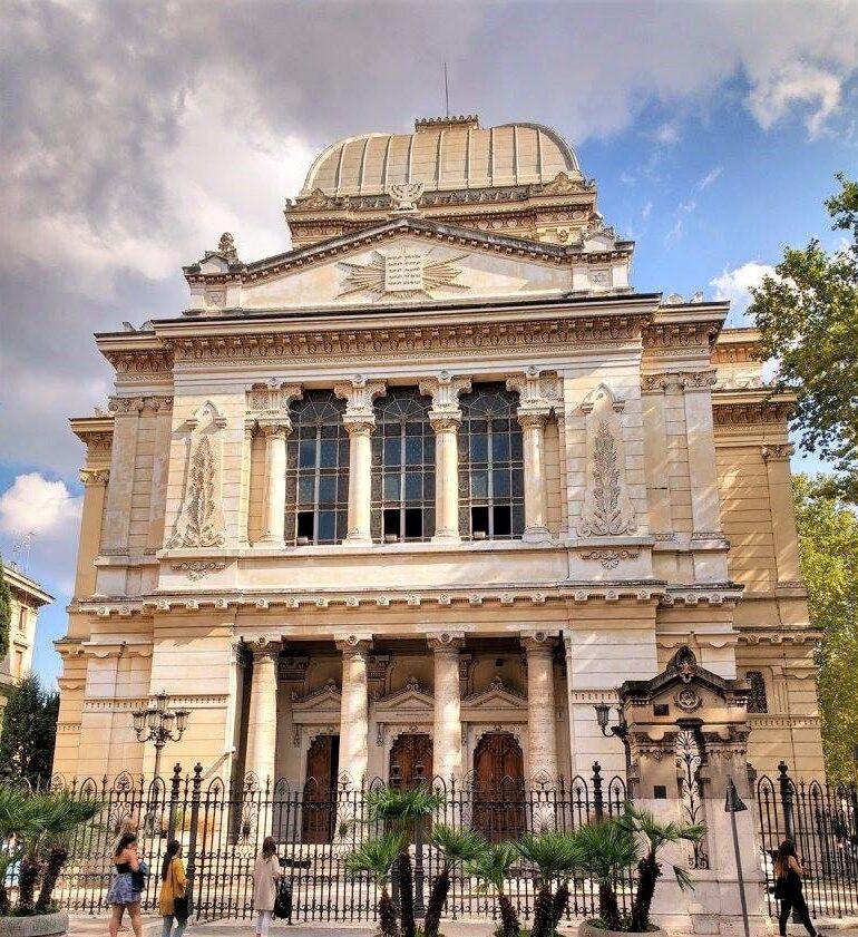 Roma capitale, comunità ebraica di Roma e ACEA inaugurano oggi l'illuminazione artistica  della Sinagoga di Roma
