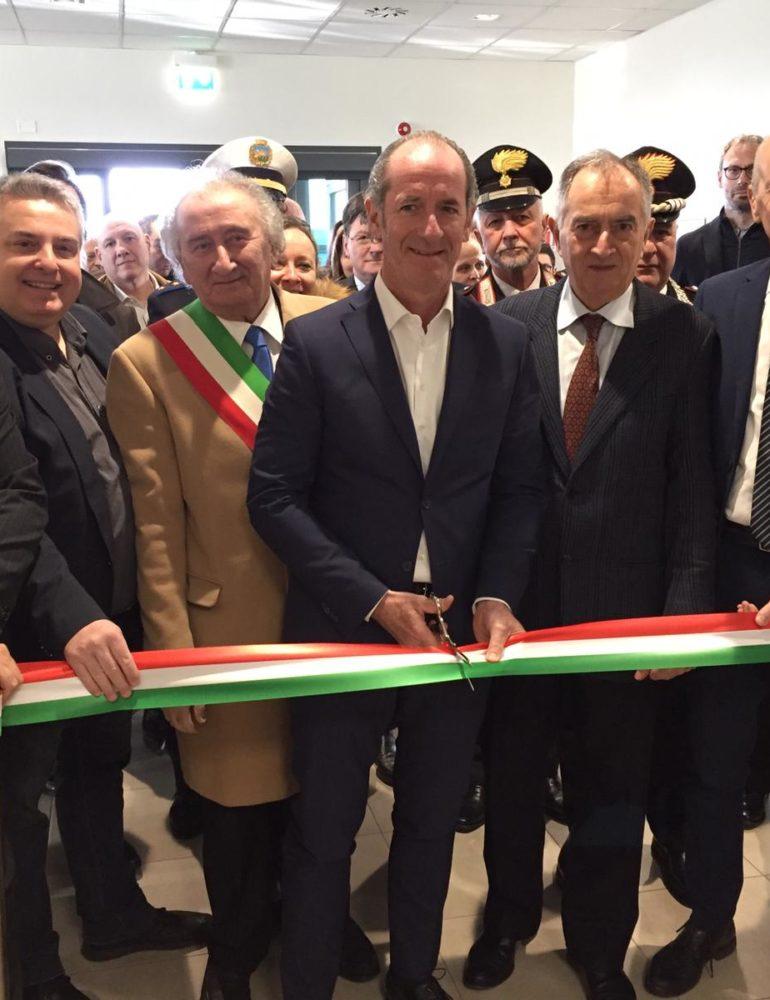 Nuova asse laboratori dell' Istituto Zooprofilattico delle Venezie.
