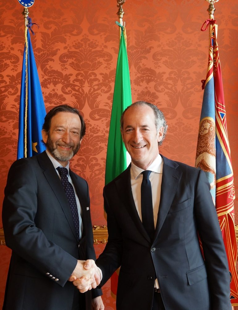 Veneto-Germania: Presidente Zaia incontra ambasciatore tedesco Elbling