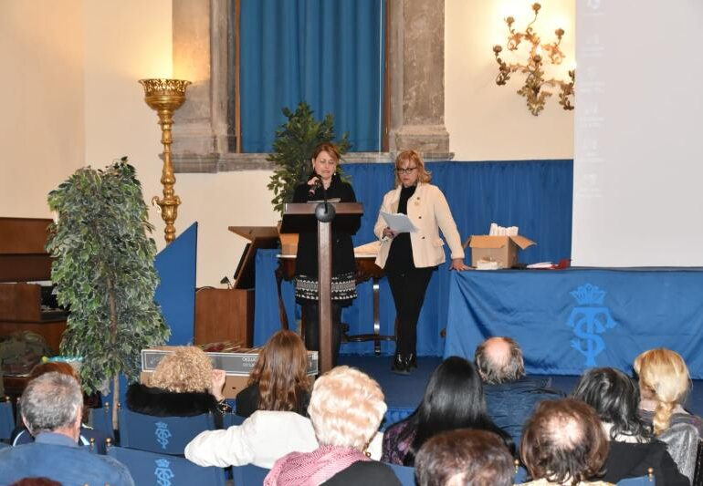 """La consigliera Onisto oggi alla """"Giornata Mondiale della Poesia 2019″ alla Scuola Grande di S.Teodoro"""