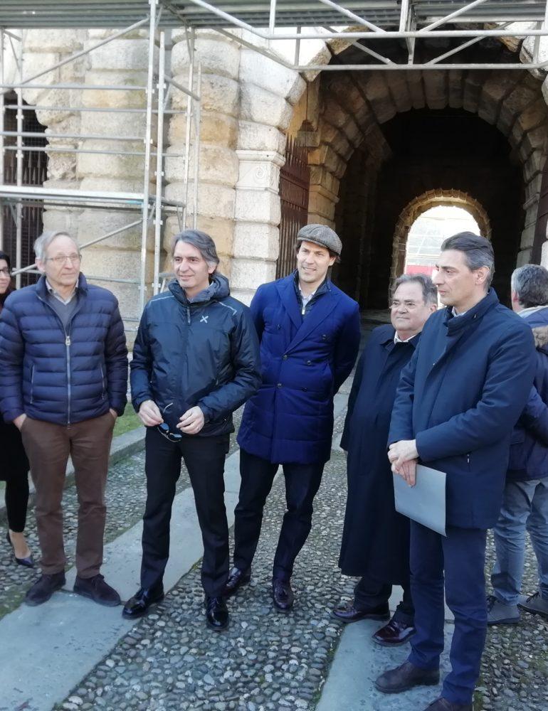Su Porta Nuova il primo restauro con sponsor