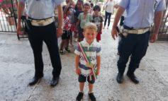 In Municipio i bambini della scuola dell'infanzia dall'Oca Bianca
