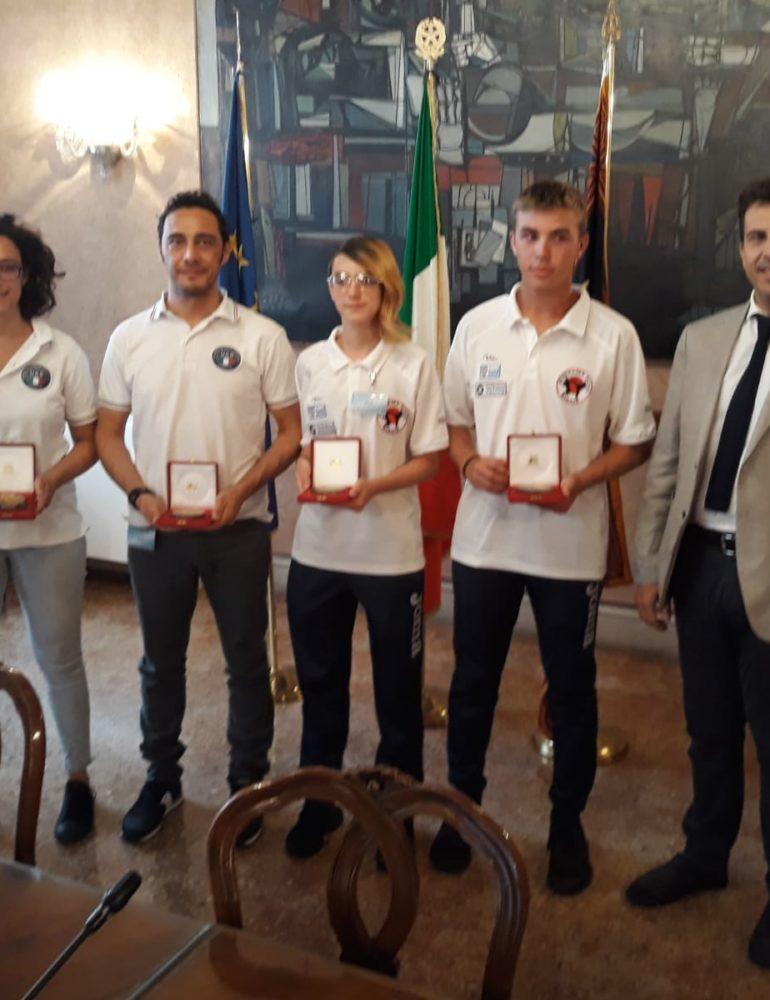 """Le medaglie venete ai Mondiali di Karate ricevute in Regione. Corazzari, """"Oltre l'affermazione, confermano l'importanza di sostenere chi diffonde lo Sport"""""""