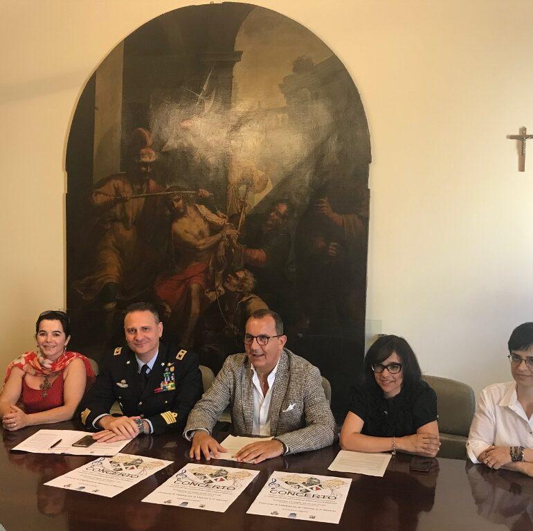 La Fanfara della 1^ Regione Aerea dell'Aeronautica Militare in concerto  per il 160° anniversario del Trattato di Pace di Villafranca  e per il 20° anniversario della riorganizzazione del 3° Stormo