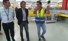 Amazon inaugura in Zai il nuovo centro di smistamento.