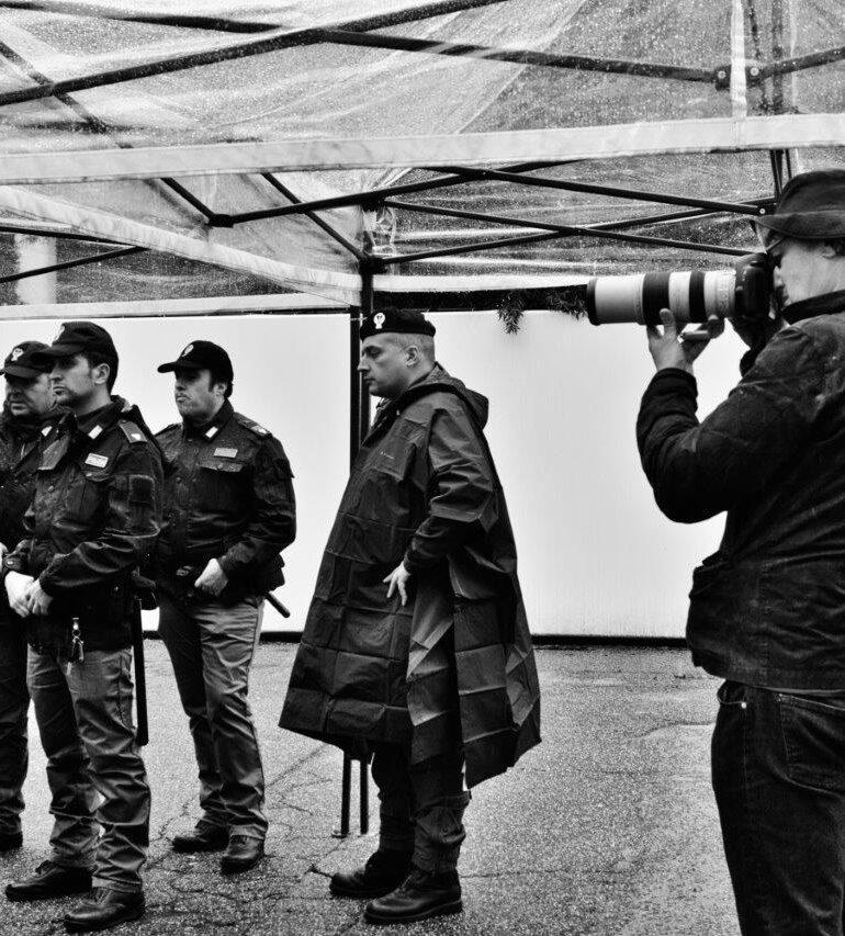 Verona: Paolo Pellegrin firma il Calendario della Polizia di Stato 2020