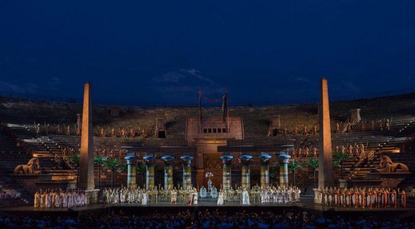 Grandi interpreti per l'undicesima Aida all'Arena di Verona Opera Festival 2019