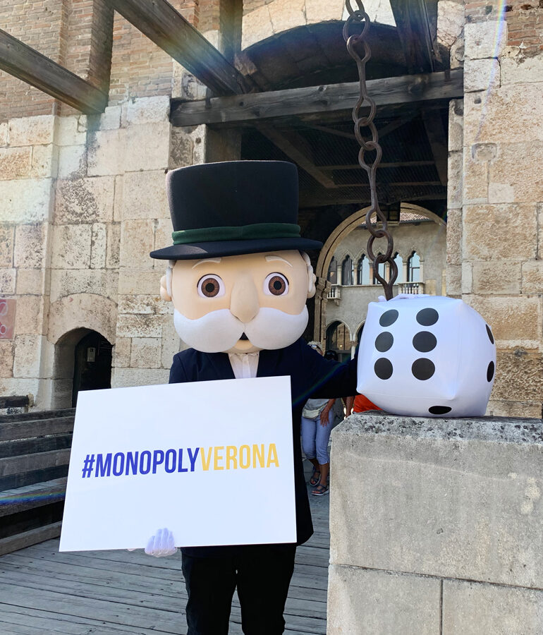 Monopoly Verona. Castelvecchio è la terza casella
