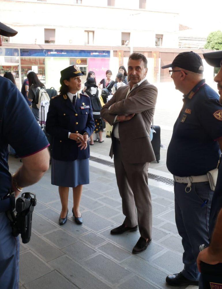 Prima tappa a Venezia per la terza edizione del Moto raduno nazionale della Polizia di Stato