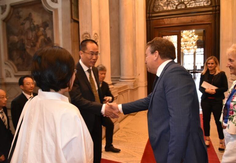 L'assessore De Martin incontra una delegazione della Città di Suzhou