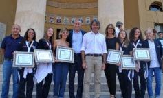 Premiate in municipio le campionesse mondiali di pattinaggio artistico