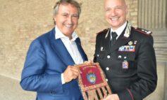 Il sindaco Brugnaro ha portato il saluto della città al generale La Gala, comandante uscente della Legione Carabinieri Veneto