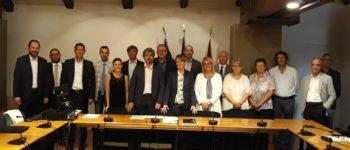 Finanziati nuovi interventi per la circolazione ciclistica: assessore De Berti sottoscrive a Palazzo Balbi 13 accordi con altrettanti comuni