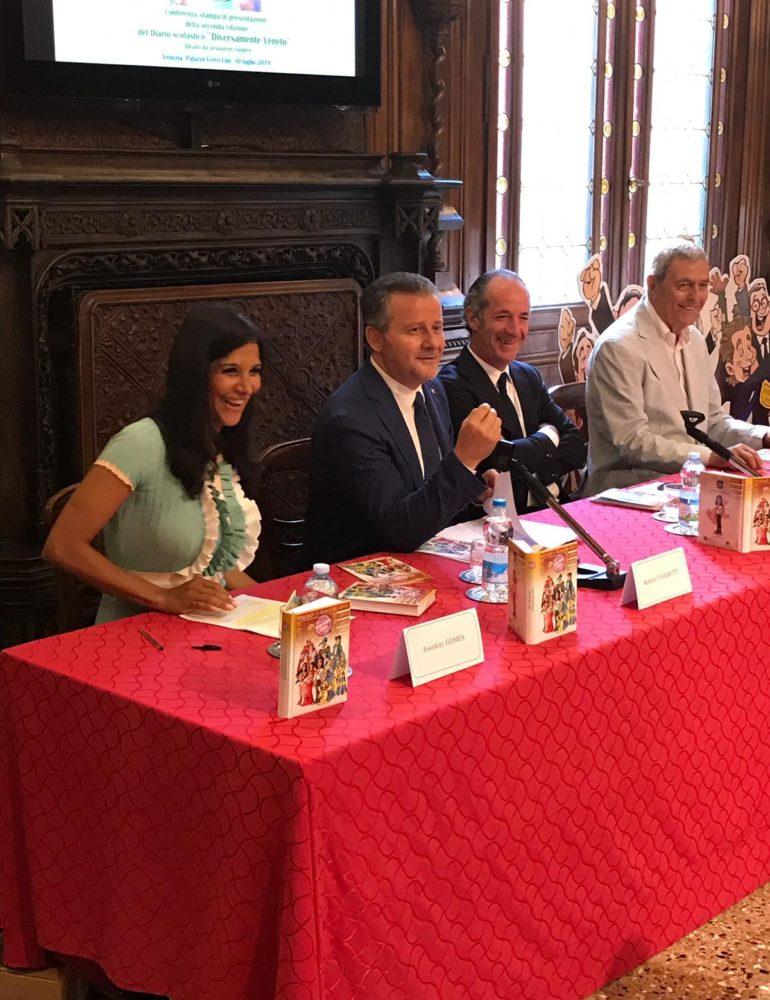 In partnership con le Province del Veneto la distribuzione della seconda edizione del Diario Diversamente Veneto