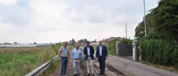 Sinergia tra il comune di Verona e Castel d'Azzano per asfaltare tutta via Scopella