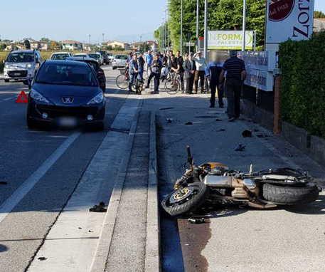 Due motociclisti morti nel Trevigiano