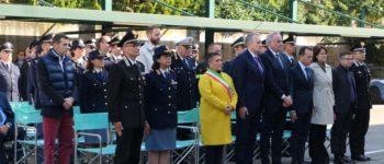 La vicesindaco Colle all'Inaugurazione dei nuovi locali della Polizia Stradale a Mestre