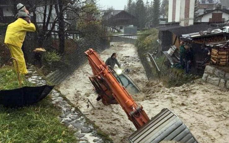 Meteo: ancora precipitazioni in Veneto, stato di attenzione nel bacino del Po e nell'area dolomitica e pedemontana
