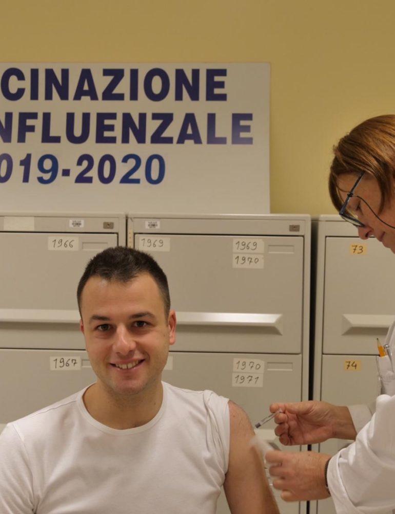 L'assessore Venturini testimonial della campagna vaccinale 2019/2020