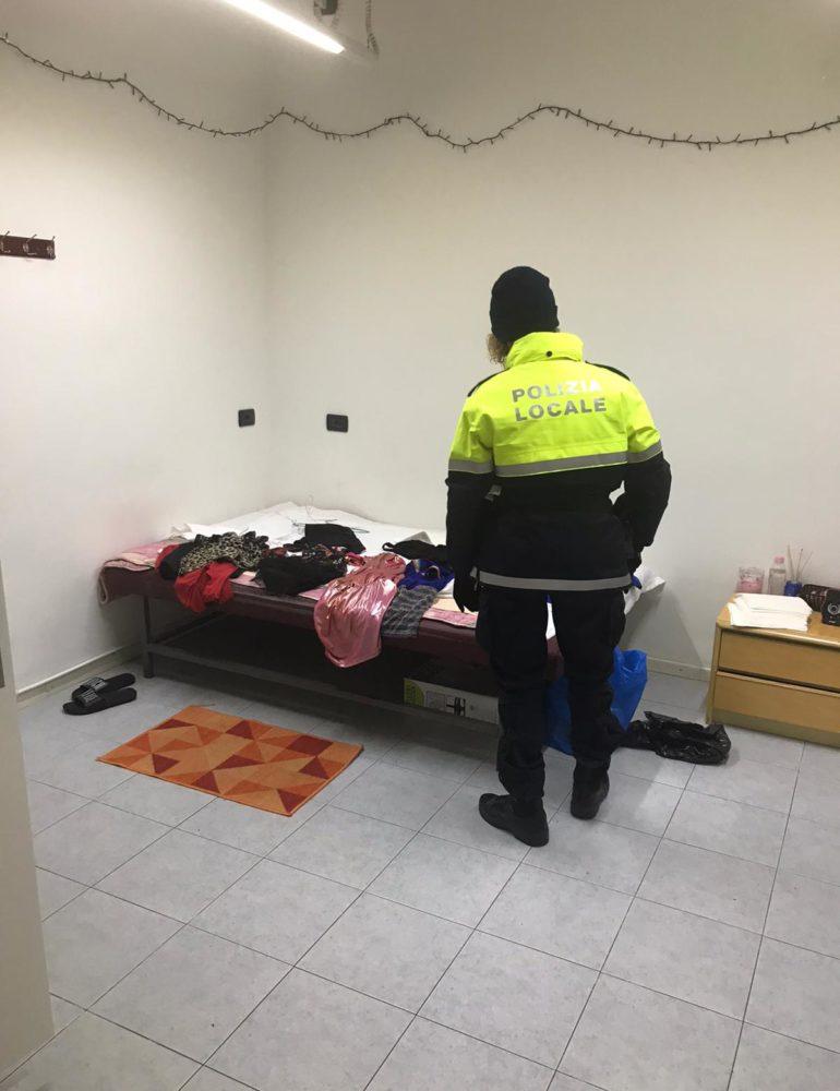 Polizia locale: sequestrata una casa d'appuntamenti a Marghera