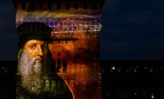"""""""Milano Leonardo 500"""". Castello Sforzesco, da domani luci e suoni per evocare """"La festa del Paradiso"""" fino al 6 gennaio 2020"""