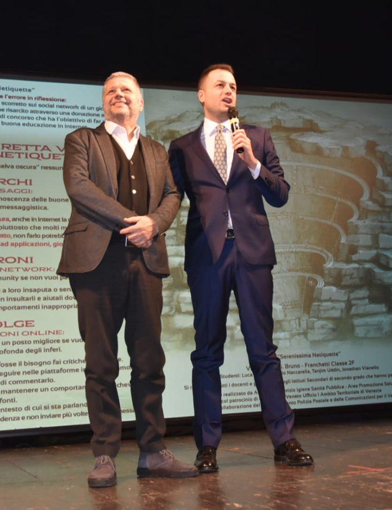 """""""Educare a teatro"""": l'assessore Venturini al teatro Goldoni alla giornata evento sulla prevenzione dei comportamenti a rischio in adolescenza"""