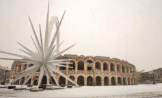 Meteo. Stato di attenzione per nevicate a bassa quota in Veneto