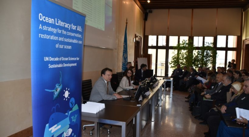 """""""Decennio delle Scienze Marine per lo Sviluppo Sostenibile (2021-2030)"""": l'assessore De Martin al workshop Cnr e Unesco per definire le azioni da intraprendere"""