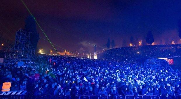 Capodanno 2020: grandissimo successo al Circo Massimo il 31 con circa 140 mila persone