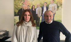 """Assessore Donazzan in vista a Gruppo Colomberotto a Moriago, """"Azienda proiettata nel futuro, attenta al benessere animale, investe in 4 ricercatori universitari"""""""