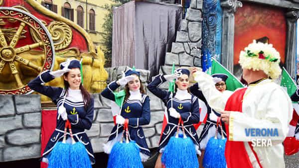 Anche l'Hellas Verona al Villaggio del Carnevale. A San Zeno 7 giorni festa