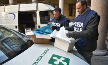 Polizia Locale. Sequestrati 610mila sacchetti di plastica non a norma