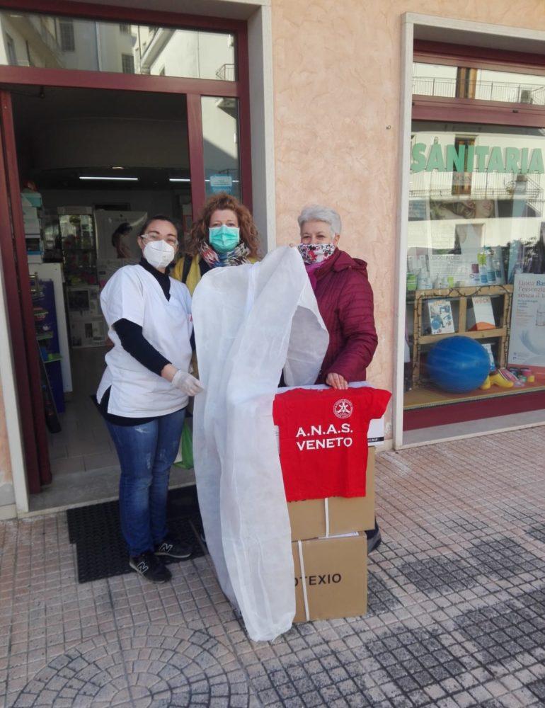 Comunicato ANSA. Consegna Ospedale Legnago