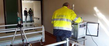 Covid 19. Arpav ha concluso i sopralluoghi negli Ospedali di Monselice, Valdobbiadene, Zevio e Isola della Scala