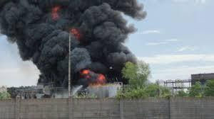 Incendio alla 3VSigma di Porto Marghera. Intervento Arpav
