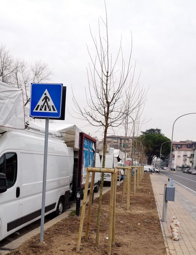 """Pozzerle: """"Filovia: lavori da mesi fermi a San Michele"""""""
