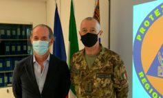 Zaia riceve Generale di Corpo D'Armata Roberto Perretti
