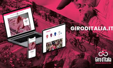 Il Giro d'Italia lancia il suo nuovo sito web
