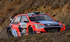 Scandola-D'Amore al rally Coppa Città di Lucca con la Hyundai i20 R5