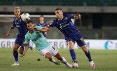 Serie A: Inter pareggia 2-2 a Verona