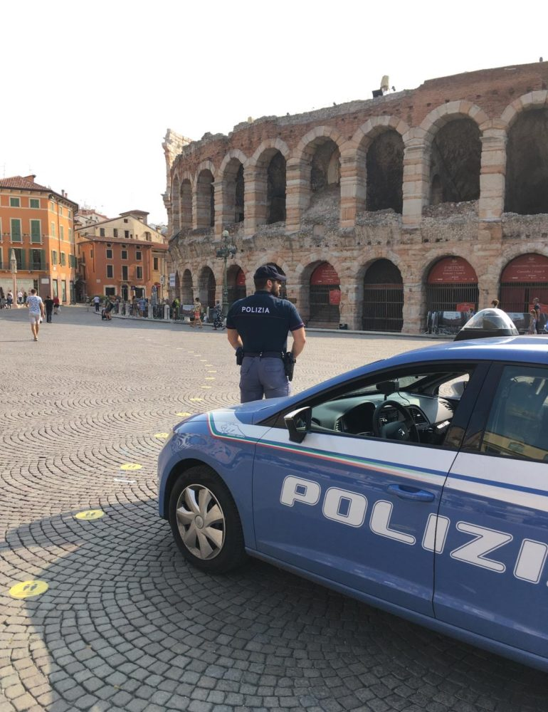 Verona: ladro di biciclette pregiudicato arrestato dalla Polizia