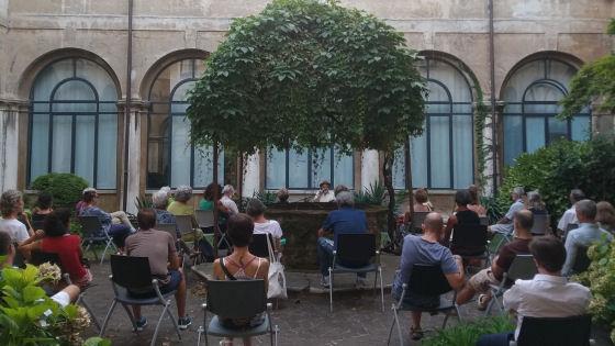Vicenza. Ultimo appuntamento di InChiostro mercoledì 5 agosto nel salotto all'aperto di Palazzo San Giacomo