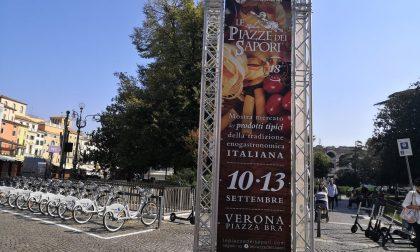 Tornano le piazze dei sapori. In Piazza Bra, dal 10 al 13 settembre, i prodotti tipici d'Italia