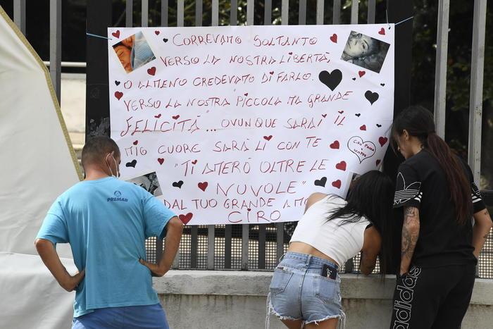 'Ti amerò oltre le nuvole', Ciro saluta Maria Paola