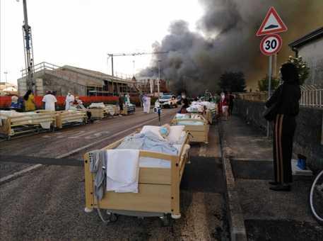 Incendi: fiamme casa riposo nel veronese, 90 in salvo