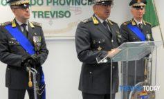 Nuovo comandante GDF Treviso. Il benvenuto del Presidente della Regione