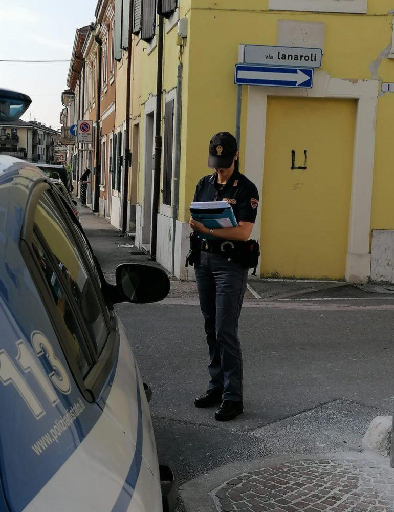 Verona: Ladro scappa ma viene bloccato dalla Polizia. Denunciato dalle volanti per rapina