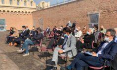 """Verona Capitale della Cultura, concluso il racconto del progetto. A Castel San Pietro, 150 persone allew visite guidate. Sboarina: """"Con questo dossier rifondiamo la città e il recupero di 22 siti"""""""