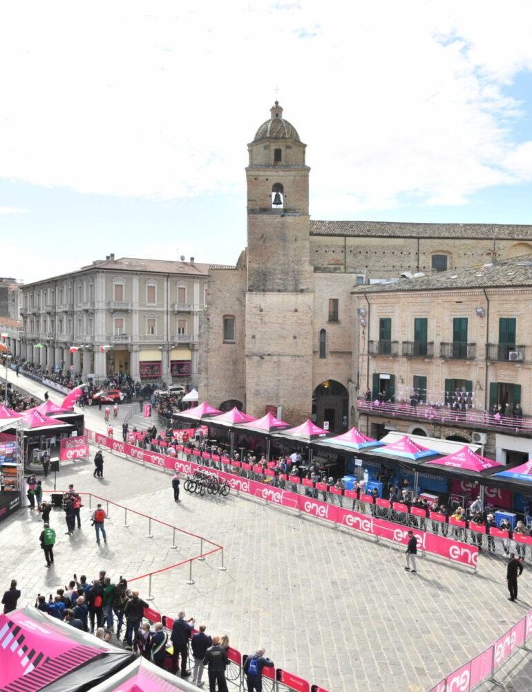 Buongiorno dalla tappa 10 del Giro d'Italia