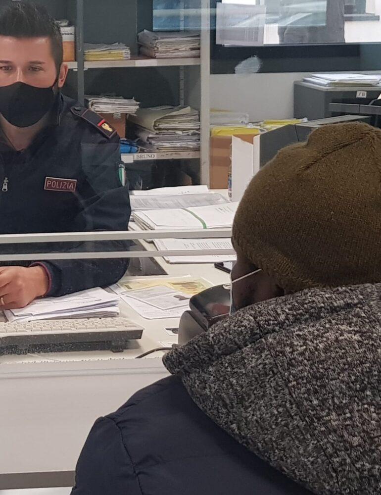 Un altro arresto di un cittadino extracomunitario effettuato dagli agenti della Polizia di Stato in servizio presso l'Ufficio immigrazione della Questura di Verona